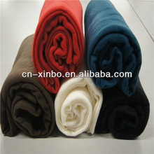 Polyester fabric adult sized car bed fleece blanket