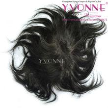 Thin skin human hair mens toupee