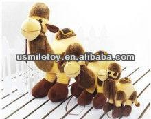 cartoon image plush camel in 3 size