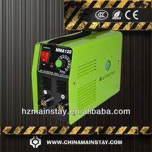 Mma120inversor de soldadura por arco de la máquina deimportación& exportando
