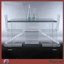 Clear Acrylic table/Dining table,Plexiglass Table