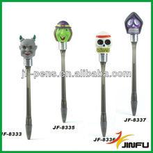 Halloween horned ghost light pen