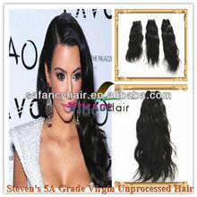 5A grade model hair extensions 100%virgin human hair
