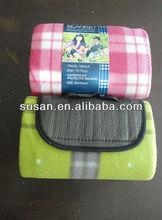 Hot sale gift fleece picnic blanket