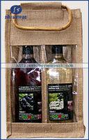fabric wine bottle gift bag pattern