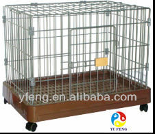 stainless steel pet cage manufacturers with bottom tray supply