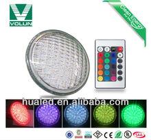 High lumen 3 years warranty G53 or Bi-Pin SMD RGB led par56 swimming pool light