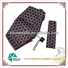 "folding umbrella is 21"" fancy bag for ladies"