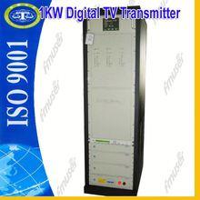 1KW portable DVB digital transmitter wireless video transmission D2