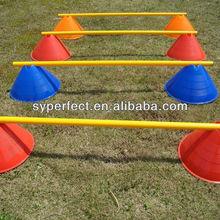 Football Training Pole 25mm with disc Diameter Plastic PVC Pipe 1.2M