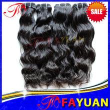 Hot sale indian hair weaving human unprocessed 5a cheap natural full cuticle indian wavy hair