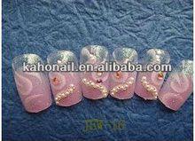 2014 Artificial Fingernails Nail tips/fashion nail art accessories for finochietto ligature ca