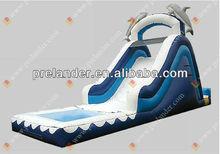 2013 New commercial Inflatable stoboggan slide/toboggan slips