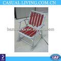 vintage de dobradura de alumínio redwood madeira slat gramado cadeira de balanço do pátio convés de praia