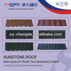stone coated decorative metal roofs