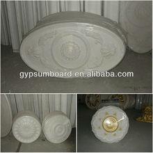 2013 new design fiberglass gypsum line lamp disk