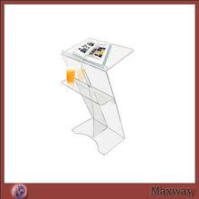 Acrylic Lectern/ Perspex/Acrylic Lectern /Clear PMMA/Acrylic Lectern