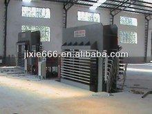 short cycle lamination press/mdf making machine