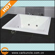 Square drop in bathtub corner copper bathtub AA1N160-G
