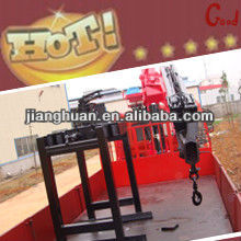 warmly welcome in brick/wood/furniture factory--Knuckle crane with grabber