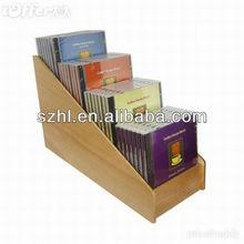 acrylic cd/dvd storage holder display rack stand