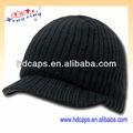 Ucuz örme çizgili kış Bere Pik şapkalar ve kapaklar