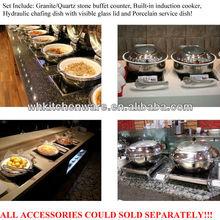Induction cooker,porcelain pan, chafer/modern buffet