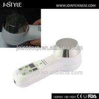 J-Style Ultrasonic Big Stainless Steel Treatment Household Handheld Mini Face Lift Body Slim Machine Weight Loss Vibrator