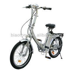 "CE Approval 20"" tyre Alloy frame lithium battery foldable City Electric Bike"