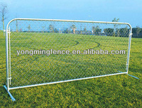 Chain link steel fence farm gate with high quality low price