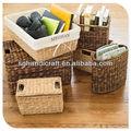 Hotsale eco- ambiente de paja tejido fabricantes de cestas