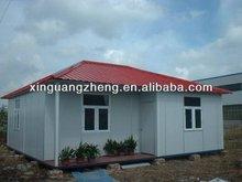light concrete panels prefabric house