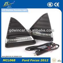 Specialized in export 12V high power energy efficiency light drl light specific/ LED Daytime Running Light for Ford Focus 2012