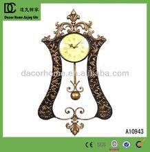 2013 New Antique Home Decorative Metal Wall Clock