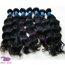 Hot selling!!! 100 percent completely unprocessed virgin huma hair bundle