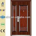 Exquis acier bois porte extérieure