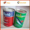 Colorful customed printing african fish powder canned adhesive sticker label as your design