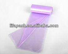 purple garbage bag star sealed on roll