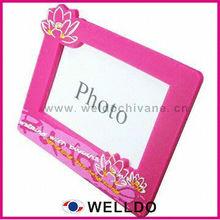 custom soft pvc photo holder