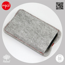 2013 new soft touch polyester mobile phone sleeve for iphone 5