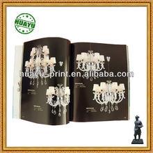 High quality C2s paper brochure / brochure printing for decorative lighting/ decorative lighting promotion brochure