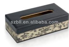 Retangular Tissue box for car/ faux leather tissue box