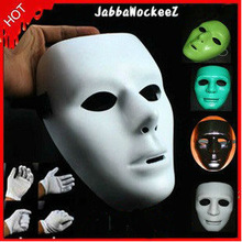 Wholesale plain masquerade mask white blank mask for party cosplay