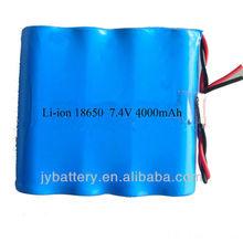 battery 18650 4000 mAh