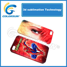 TPU&pc Sublimation 3D mobile cover for iPhone 5/ 4/4s