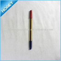 Double end slim ball pen stick ball pen