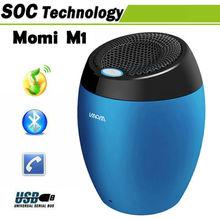 Big Wholesale! MOMI M1 Mini Wireless Portable Bluetooth Speaker for Mobile Phone/Tablet PC/Computer/PSP/MP3 Multicolor