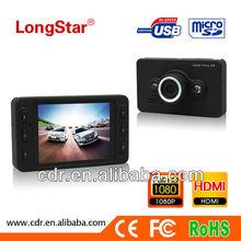 2013 Hottest Portablecar car cam private mold F980 with Super Night Vision & G-sensor