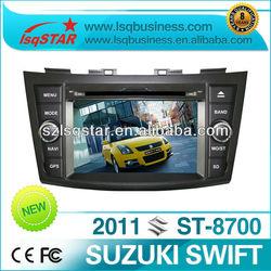 Good quality car autoradio for suzuki swift 2011 with GPS navi,DVD Radio Bluetooth mp3 mp4 usb sd..hot selling!