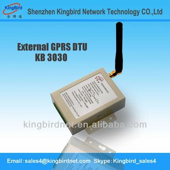 M2M MODEM RS232 GSM GPRS DTU MODEM supply antenna power adapter for free